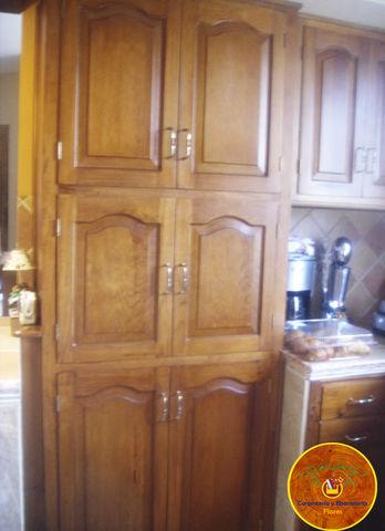 Mueble para despensa en madera de pino carpinter a y - Muebles madera pino ...